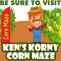 Be Sure to Visit Ken's Korny Corn Maze!